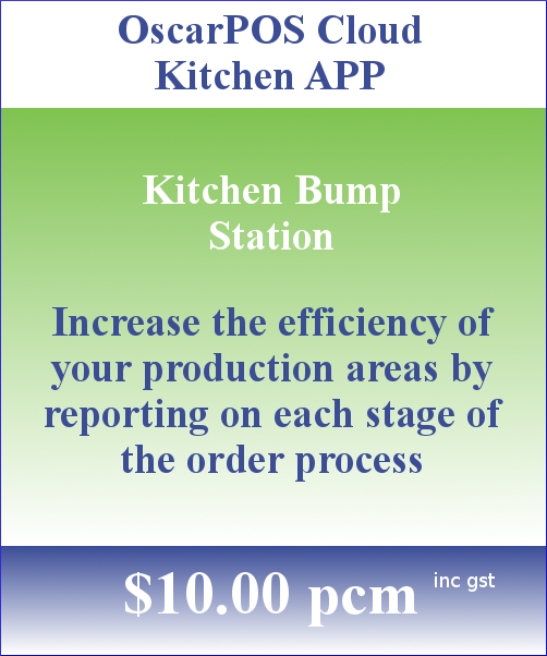 OscarPOS Cloud Pricing Block Kitchen APP