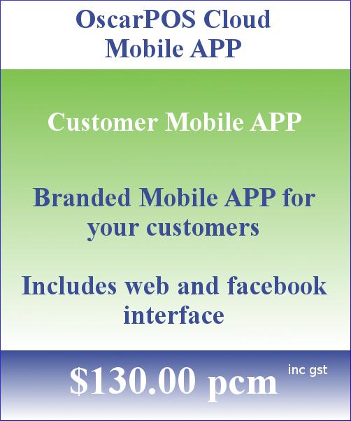 OscarPOS Cloud Pricing Block Mobile APP