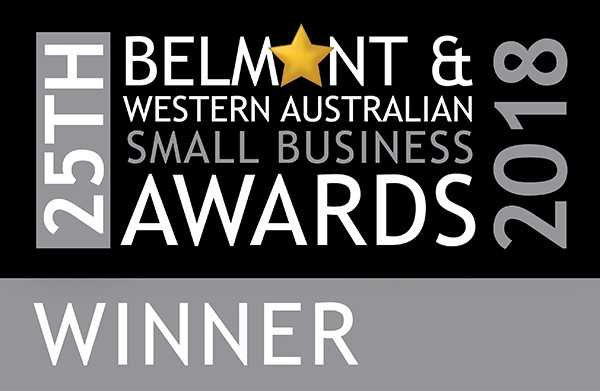 OscarPOS Winner in the 25th Belmont & Western Australian Small Business Awards 2018