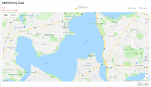 BOM - Settings - Delivery Zones - Add