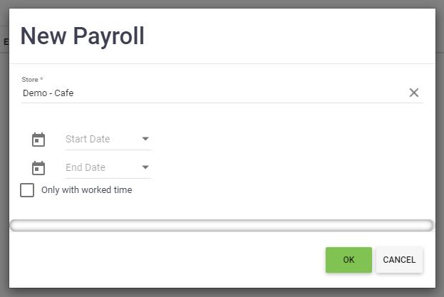 BOM - Staff - Payrolls - Add - New Payroll