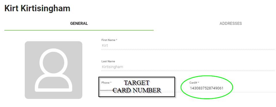 BOM - Customer List - Duplicate Card Entry - Target Card Number